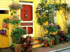 Lovely vintage screen door~Available at American Home & Garden in Ventura CA