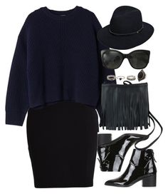 """Untitled #3081"" by peachv ❤ liked on Polyvore featuring VILA, Acne Studios, Topshop, rag & bone, Chanel and Charlotte Russe"