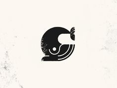 Kul geometrisk hval-logo av Rogie King