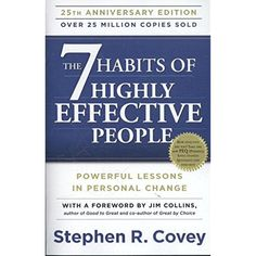 The 7 Habits of Highly Effective People: Powerful Lessons in Personal Change         >>> Find out more about the great product at the image link. (This is an affiliate link) #Books