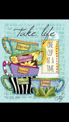 It's coffee o'clock. Time for me to take my one mug of coffee for the day. Always sweet. That's how I like my coffee I Love Coffee, Coffee Art, My Coffee, Coffee Cups, Tea Cups, Coffee Break, Drink Coffee, Coffee Today, Coffee Barista