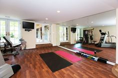 Two car garage converted to workout room. I'd like to install windows to my garage to allow natural sunlight in.