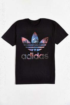 47dc8be36cff T-shirt trèfle galactique adidas Originals