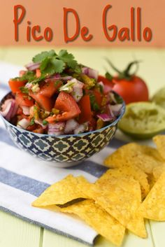 Pico De Gallo Mexican Food Recipes, New Recipes, Vegetarian Recipes, Dinner Recipes, Healthy Recipes, Ethnic Recipes, Whole30 Recipes, Recipies, Quesadillas