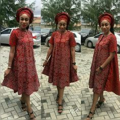 Top Ten Trendy Ankara Styles You Should Try - Dabonke Hello beautiful ladies, its a lovely morning and we believe most of the ladies are preparing for today owanmbe party. still in business so today we presenti African Print Dresses, African Print Fashion, African Fashion Dresses, Fashion Outfits, African Attire, African Wear, African Women, Beautiful Ankara Styles, Trendy Ankara Styles