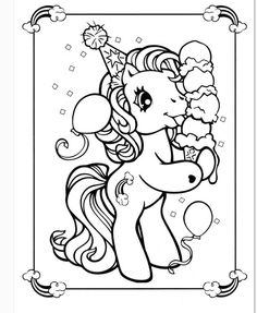 Little Pony Coloring Pages Through The Thousand Images On Line