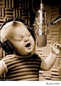 Sing like you mean it!