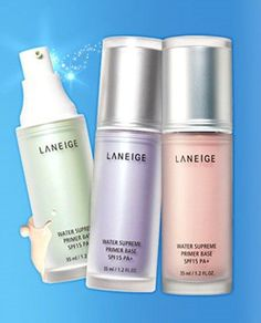 Amore Pacific LANEIGE Water Supreme Primer Base SPF15 PA+ 35ml, Make Up Base #Laneige