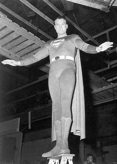 The Adventures of Superman - George Reeves, 1952. My brother and I watched this show every week and thought it was the best. I actually have Seasons 1 & 2 on DVD and my young granddaughter loved it too.