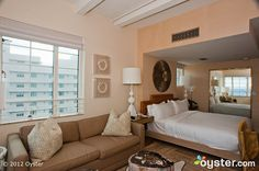 The Oceanfront Studio Suite at the Tides South Beach