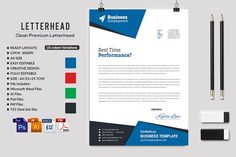 Letterhead by AfzaalGraphics on @creativemarket