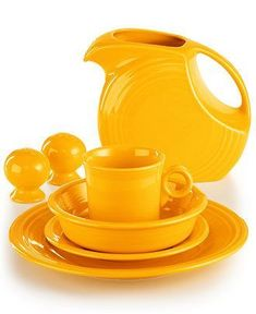 Fiesta Daffodil Collection - Fiesta - Dining & Entertaining - Macy's