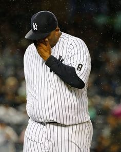 C C Sabathia, NYY, will miss the playoffs as he has reportedly checked himself into an alcohol rehab center - best wishes to CC and his family.  Oct 2015