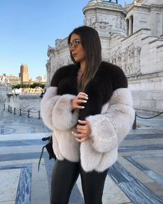 """1,540 Likes, 15 Comments - Furs By Natalia (@fursbynatalia) on Instagram: """"Our new Two Tone Coat will be available to purchase from our website at the end of today. These…"""""""