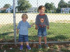 Back to School:  Morgan & Milo