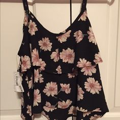 Tank top Brand new floral tank top. Never worn! Tops Tank Tops