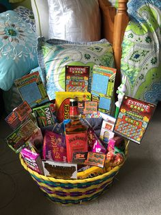 Made this baseball themed easter basket for my boyfriend last year made this baseball themed easter basket for my boyfriend last year beer peanuts crackerjacks baseball eggs filled with his favorite candy no negle Images