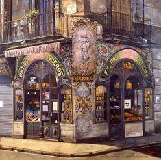 Gabriel Picart - Antigua Casa Figueras II 1999 - Oil on canvas