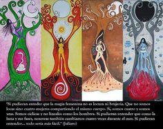 Astrología. La luna, sus fases y ciclos de la Mujer