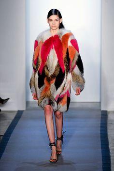 Fall Trends - Color+Fur - I'll take a faux - Harper's BAZAAR