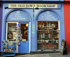 Book Shop, Edinburgh, Scotland
