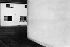 Tract House no.6 (gelatin silver print) by Lewis Baltz, 1971