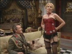 Kim Hartman from Allo Allo. British Comedy Series, British Tv Comedies, British Actresses, British Actors, Classic Comedies, Comedy Actors, Actors & Actresses, Nylons, Vicki Michelle
