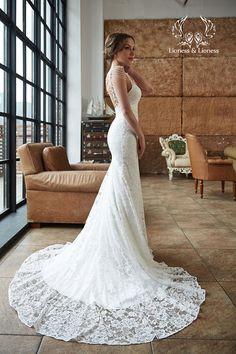 Fairy wedding dress Wedding dress Unique dresses by DressesLioness