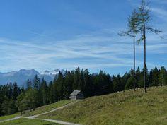 In da Heh: Hütteneck von beiden Seiten über Kienmoos und Ross. Mountains, Nature, Travel, Viajes, Naturaleza, Destinations, Traveling, Trips, Bergen