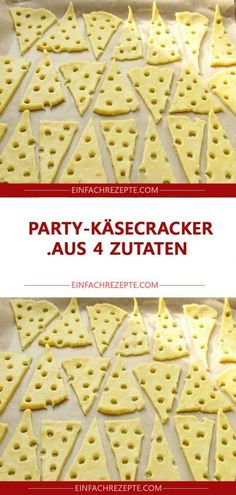 Party cheese cracker with 4 ingredients 😍 😍 😍 - Party cheese cracker with 4 ingredients . - Party cheese cracker with 4 ingredients 😍 😍 😍 – Party cheese cracker with 4 ingredients - Easy Cheesecake Recipes, Cake Mix Recipes, Easy Cookie Recipes, Snack Recipes, Easy Recipes, Recipes Dinner, Snacks Für Party, Chocolate Chip Recipes, Le Diner