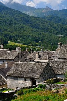Val d'Ossola - Druogno, Piemonte, Italia
