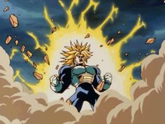 08/13/16: Trunks is powering up tonight! For more of Trunks vs Cell, tune into Toonami for DBZ Kai, Saturdays at 11:30pm!! #Ashley_Christina @aisaac11205