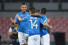 He has formed a potent new alliance withDries Mertens and Lorenzo Insigne in Naples