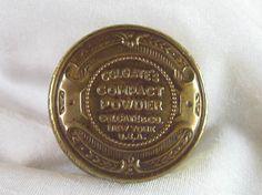 Rare Vintage Colgate Face Powder Compact