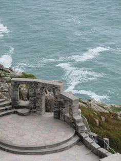 The Minnack, open-air theatre, Cornwall- magical