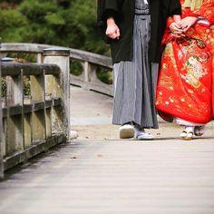 久しぶりの #前撮り Photo♡ ハワイで後撮りしたいけど 予算が心配‥ #和装 #スタジオTVB