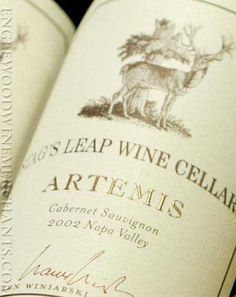 Stag's Leap ARTEMIS Cabernet Sauvignon from Napa Valley