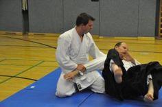 Aikido-Kyuprüfungen 23.05.2015, Linz - Suwariwaza Irimi nage
