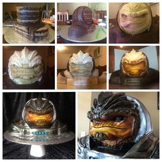 Mass Effect cake http://ift.tt/1HCWXzL