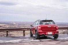 MINI at Lookout Mountain | MINI Cooper | MINI in the Mountains | Rocky Mountains | Colorado Sunset | Sunset Photography | Schomp MINI | Red MINI Cooper | Dream MINI Cooper | MINI in Denver