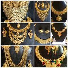 Indian 22K Gold Plated Wedding Necklace Earrings Jewelry Set Variations 8'' Set in Jewelry & Watches, Fashion Jewelry, Jewelry Sets | eBay