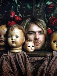 Kurt Cobain (American, 1967-1994) I want this as a poster