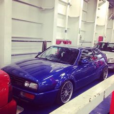 On the ferry back from #dubshed in #belfast had a great weekend #corrado #vw #vr6 #bbs #vwshowseason ...