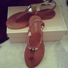 Can't wait for the summer. Just bought this sandal by MK ofcourse.