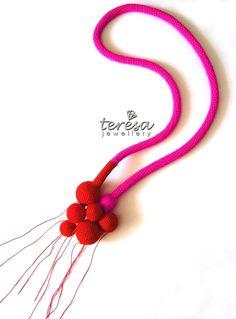 Wonderful crochet jewelry from TERESA DEGLERI