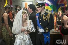 """The Carrie Diaries -- """"Fright Night"""" -- Carrie and Walt"""