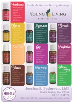 Now offering Everyday Oils Collection for use during massage 100% FREE of charge <3