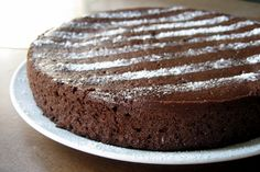Flourless Chocolate Cake with Coffee Liqueur Recipe ~ 16 oz chopped ...
