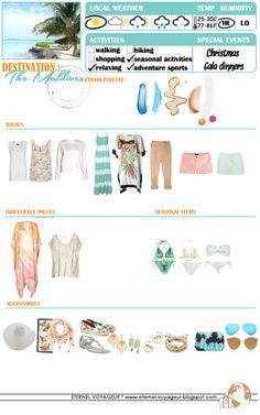 Eternel Voyageur: WHAT TO PACK The Maldives
