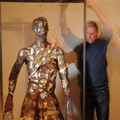 """Erik Schnack """"Wired"""" 2016 Victorian, Sculpture, Dresses, Design, Fashion, Vestidos, Moda, Fashion Styles, Sculptures"""
